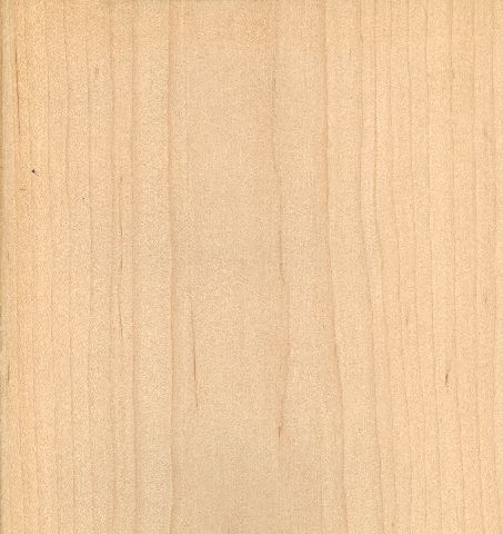Sliced White Maple Solid Core Wood Doors
