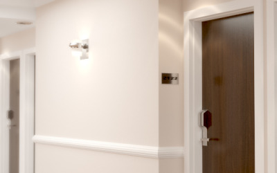 Commercial Solid Core Wood Doors for Design