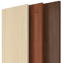 Solid core wood doors