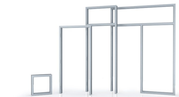 Commercial Metal Door Frames | Steel Door Frames Commercial
