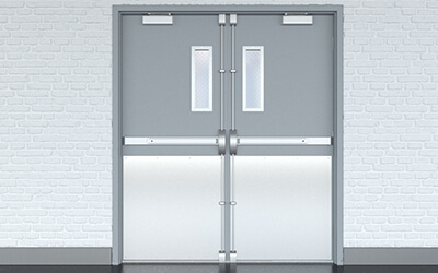 pci_steel_doors_1800_series, Commercial Steel Doors, galvanized steel doors