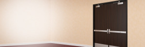 solid core wood commercial doors