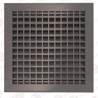 1900ASG Series Steel Fire Rated Louver Door Insert