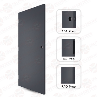 1800 Series 18ga cold rolled steel commerical doors
