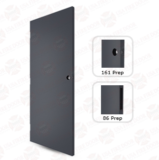 1800-G 18ga. Galvanized steel commercial doors