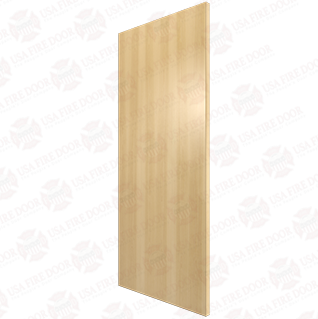 Rotary Natural Birch Commercial Wood Doors