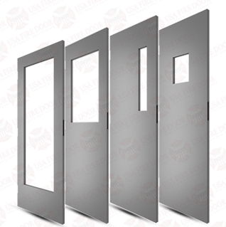 Commercial steel doors with window cut outs  sc 1 st  USA Fire Door & S Series Commercial Steel Doors