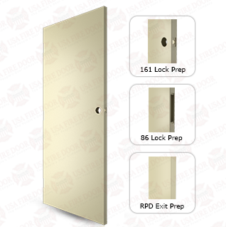 Steelcraft L Series 18ga. A60 Galvanneal Steel Door