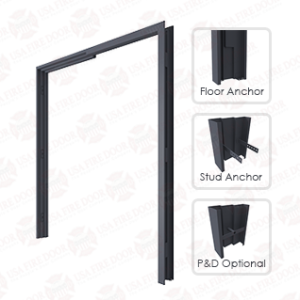 Commercial steel door frames