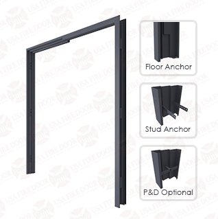 3000 Series Double Egress Hollow Metal Door Frames