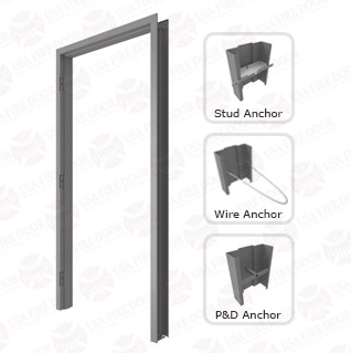 F10 16ga. Flush Mount Galvanized Steel Door Frames