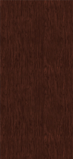 Figured Mahogany Plastic Laminate Doors, Fine Grain Finish with Seon
