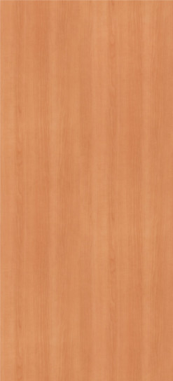 Natural Pear Plastic Laminate Solid Core Wood Doors