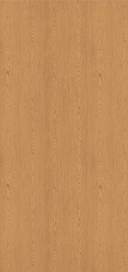 7806-60 Bannister Oak Plastic Laminate Solid Core Wood Doors, Matte Finish
