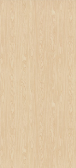 7911-60 Manitoba Maple Plastic Laminate Solid Core Wood Doors, Matte Finish