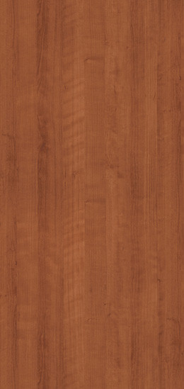 7919K-78 Amber Cherry Plastic Laminate Doors, Fine Grain Finish With Aeon
