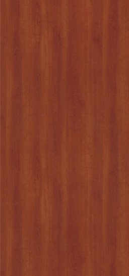 7924K-07 Biltmore Cherry Plastic Laminate Doors, Textured Gloss Finish With Aeon