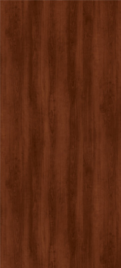 7936-07K Williamsburg Cherry Plastic Laminate Doors, Textured Gloss Finish With Aeon
