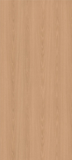 7938-38 New Age Oak Plastic Laminate Solid Core Wood Doors, Fine Velvet Texture