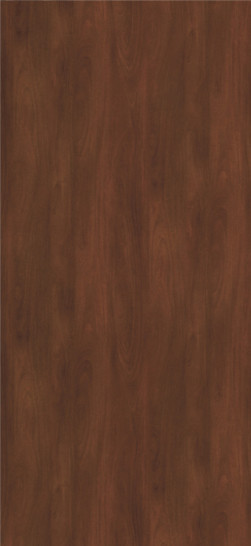 7956K-78 Honduran-Mahogany Plastic Laminate Doors, Fine Grain Finish With Aeon