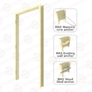 Steelcraft F16 16ga. Flush Mount Steel Door Frames