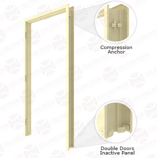 Steelcraft K16 16ga. Steel Slip on Drywall Frames