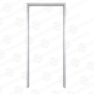 "AL112 Clear Anodized Interior Aluminum Door Frames with 1-1/2"" Trim"