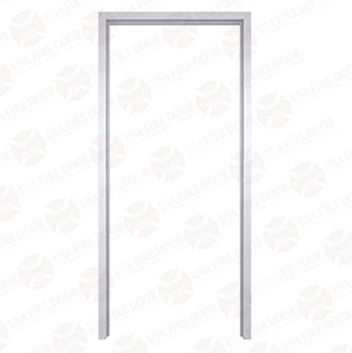 "AL120 Clear Anodized Interior Aluminum Door Frames with 2"" Trim"