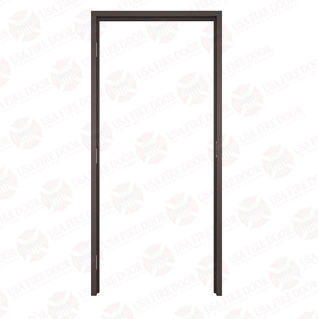 "AL112 Dark Bronze Anodized Interior Aluminum Door Frames with 1-1/2"" Trim"