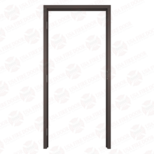 "AL120 Dark Bronze Anodized Interior Aluminum Door Frames with 2"" Trim"