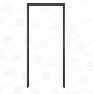 "AL100 Dark Bronze Anodized Interior Aluminum Door Frames with 1"" Trim"