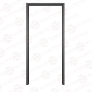 "AL100 Black Anodized Interior Aluminum Door Frames with 1"" Trim"
