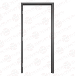 "AL120 Black Anodized Interior Aluminum Door Frames with 2"" Trim"
