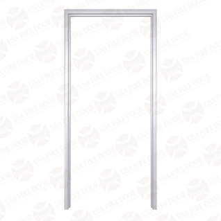 Timely Classic Series Fixed Throat Pre-Finished Steel Door Frames, Alumatone