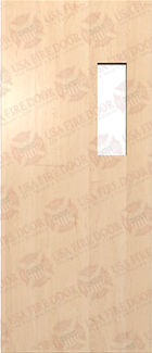 Commercial Solid Maple Door White Maple Interior Door