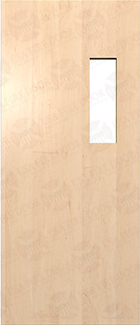 Solid Core White Oak Doors White Oak Commercial Door