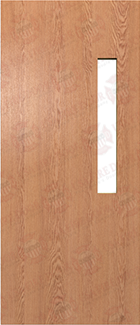 Plain Sliced Solid Oak Doors Red Oak Solid Core Wood Doors