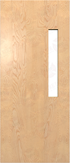 Interior Commercial Wood Doors White Rotary Birch Door