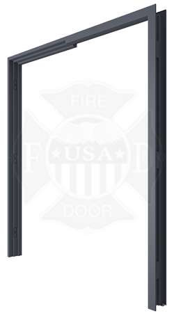 3000-Steel-Door-Frame-2  sc 1 st  USA Fire Door & Hollow Metal Door Frame for Double Egress Door