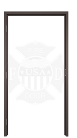 Fire Rated Anodized Aluminum Door Frame | Bronze Door Frame