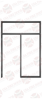 Custom-Black-Anodized-Door-Frame-7