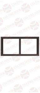 Custom Bronze Anodized Door Frame