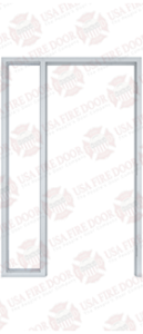 Custom Steel Door Frame 2-6
