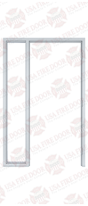 Custom Steel Door Frame 2-7
