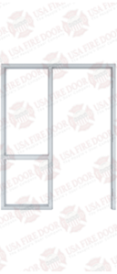 Custom Steel Door Frame 3-3