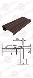 Casing Door Brown