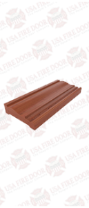 Door wood casing