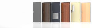 commercial metal doors, wood doors, steel doors.