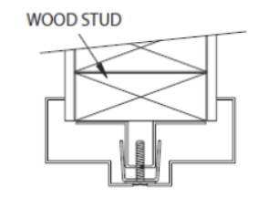 *Note: Slip On KD Drywall Frames Cannot Be Factory Welded. Refer To Section  4: New Stud Walls If Welded Drywall Frames Are Specified.