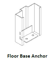 Floor Base Anchor- USA Fire Door